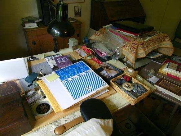 La table de travail de P.K. Page