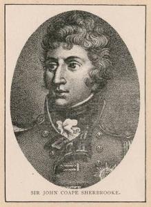 Portrait de Sir John Coape Sherbrooke