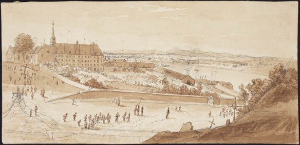 L'Hôtel-Dieu, Québec, ca. 1822-1832