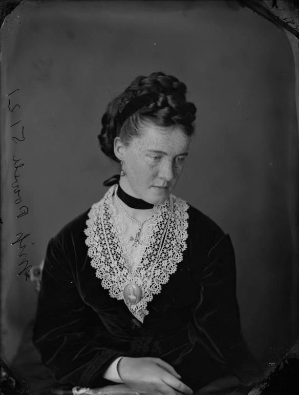 Mademoiselle Powell, 1870
