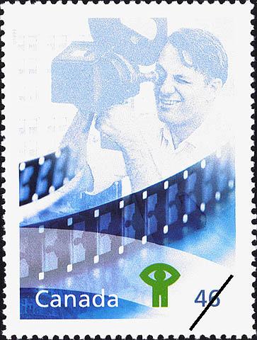 Timbre soulignant les réalisations exceptionnelles de l'Office national du film