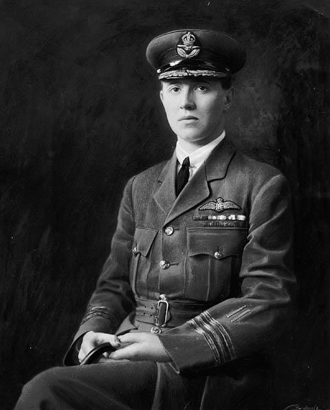 Le major William G. Barker, 1918