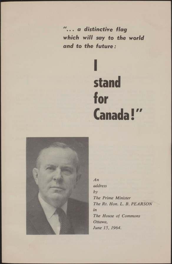 Page couverture d'un discours publié. Comprend du texte et le portrait d'un homme blanc.