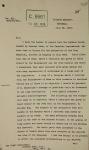 Lettre dactylographiée de deux pages et télégramme faisant état des points saillants de la tournée effectuée par la délégation canadienne.