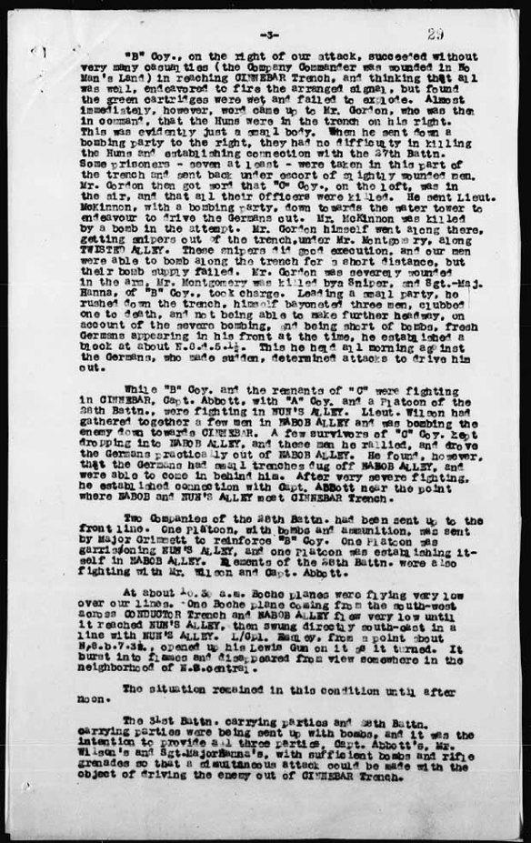 Description détaillée des événements qui ont valu à Hanna la Croix de Victoria.