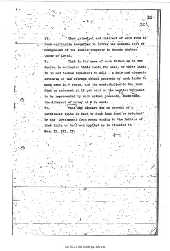 Deux pages dactylographiées d'un présumé décret antérieur à la Confédération.