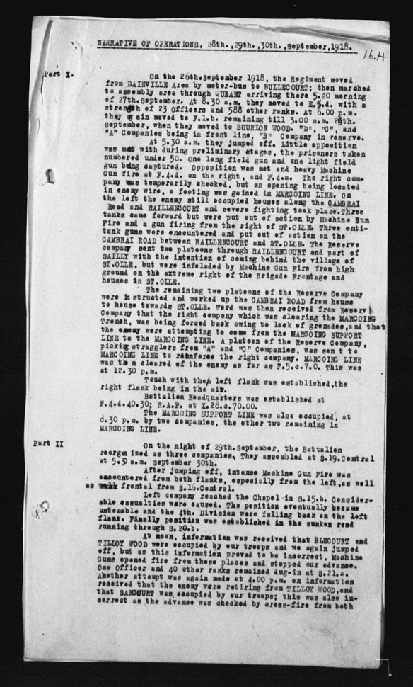 Une copie noir et blanc d'une page sur laquelle se trouvent des paragraphes de texte dactylographié à l'encre noire.