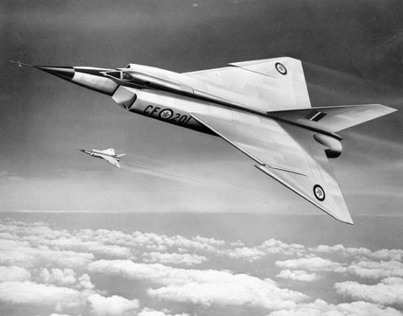 Dessin montrant deux avions au-dessus des nuages.