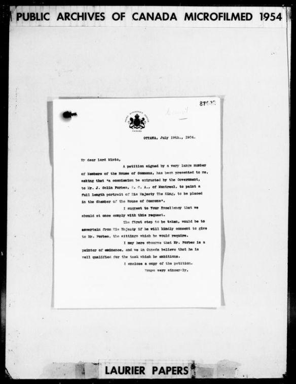 Image noir et blanc d'une page numérisée tirée d'un microfilm.