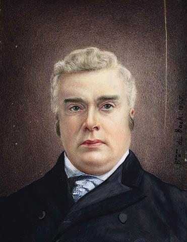 Portrait en buste de l'ancien premier ministre canadien sir John Sparrow Thompson.