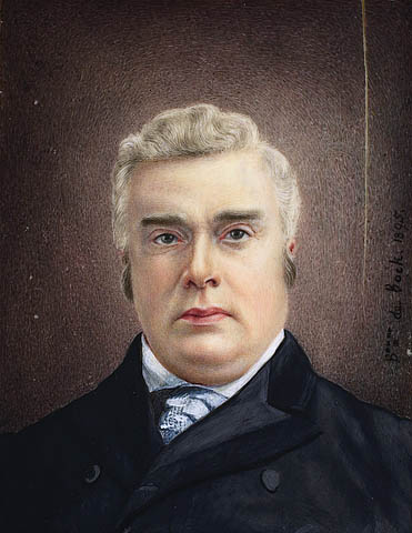 Portrait en buste de l'ancien premier ministre canadien sir John Sparrow Thompson.