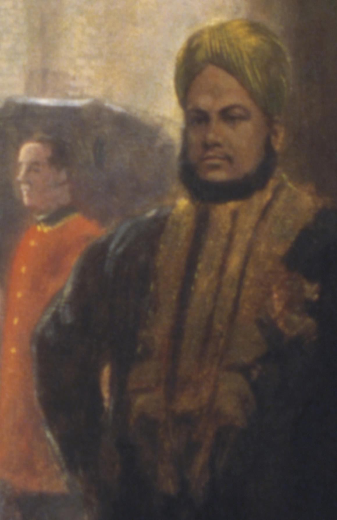 Détail illustrant Mohammed Abdul Karim.