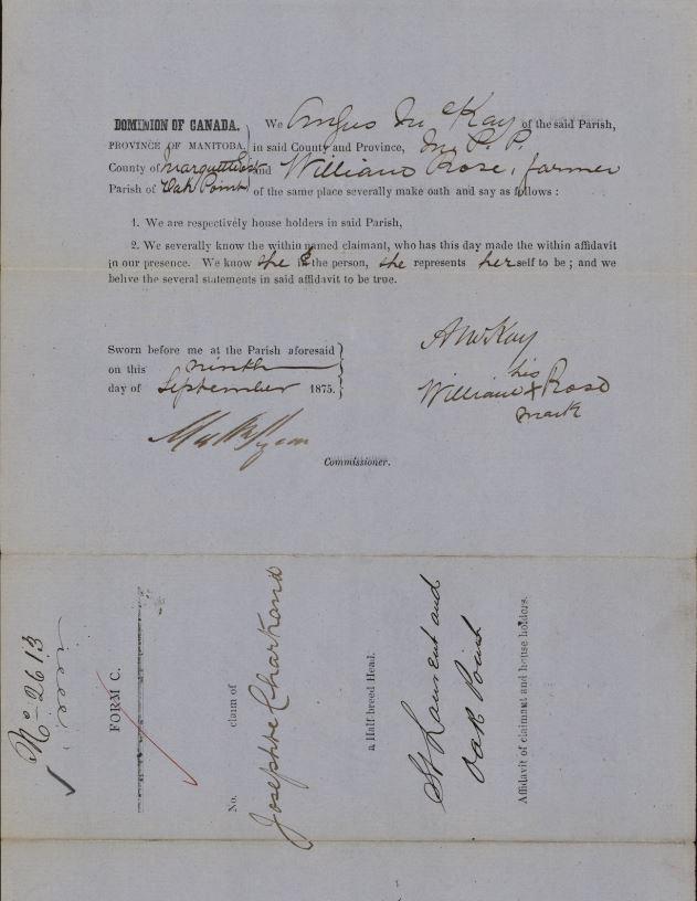 Document manuscrit et dactylographié.